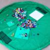 子供達も満足!レゴの片付けが楽になる収納式プレイマット