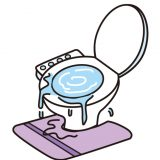 108円で解決! | トイレがつまった時ときの対処法
